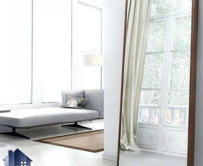 آینه ایستاده و قدی 100*200 مدل SMJ201 که دارای قاب MDF و به صورت دکوراتیو و مناسب برای اتاق خواب ، پذیرایی و سالن های آرایشگاهی میباشد