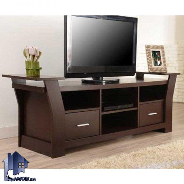 میز تلویزیون LCD مدل TTJ42 از جنس MDF و به صورت ویترینی که دارای طراحی زیبا و به صورت CNC شده و دارای رنگ بندی متنوع میباشد