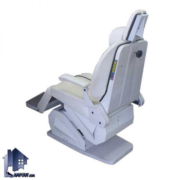 صندلی آرایشگاهی برقی BChM100 که دارای مکانیز های تغییر زاویه و ارتفاع نشیمن بوده برای سالن آرایشگاه مردانه و زنانه مناسب بوده و با رنگ های متنوع میباشد.