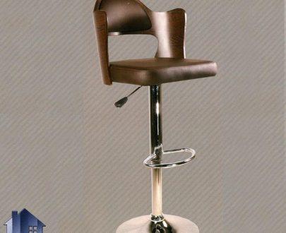 صندلی اپن BSO2002 که دارای طراحی به صورت جکدار با پایه فلزی با جک هیدرولیکی که برای میز کانتر و بار و آشپزخانه بوده و با رنگ های مختلف ساخته میشود.