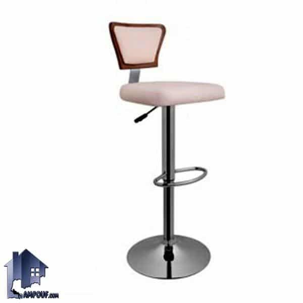 صندلی اپن BSO2012 با بدنه از جنس MDF که برای میز کانتر و بار در رستوران آشپزخانه کافی شاپ فست فود و منازل با رنگ های متنوع ساخته میشود.