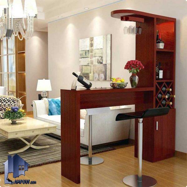 میز اپن و بار BTJ100 که دارای ساختار به صورت ویترین دار و میتواند در آشپزخانه و یا رستوران و کافی شاپ ها که از MDF ساخته شده است مورد استفاده قرار بگیرد.