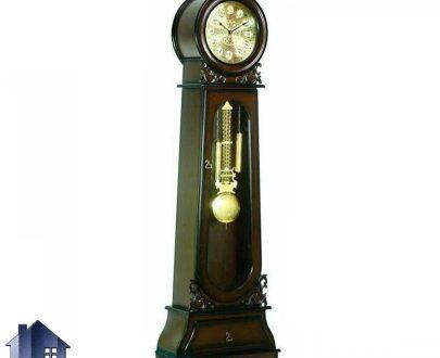 ساعت ایستاده کلیسایی CLP100 که به پاندول دار یا پاندولی معروف بوده که برای استفاده در دکور پذیرایی استفاده میشود و به صورت عقربه ای و با بدنه چوبی میباشد.
