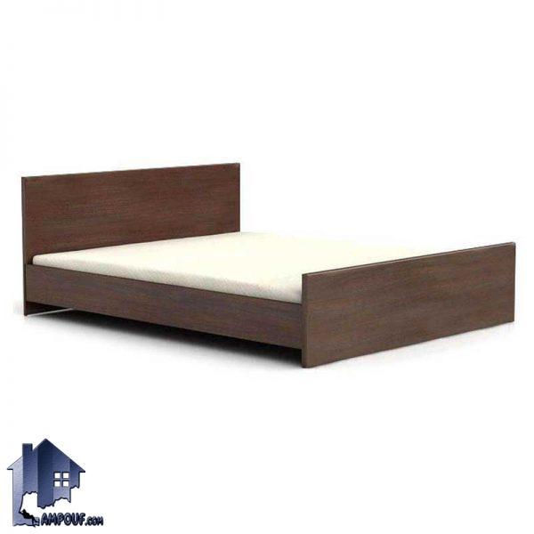 تخت خواب دو نفره DBJ100 و یا باکس دونفره که میتواند به عنوان سرویس خواب در اتاق خواب منازل و ویلا ها و همچنین هتل ها و خوابگاه ها مورد استفاده قرار بگیرد.