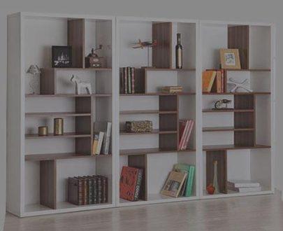 قفسه و کتابخانه