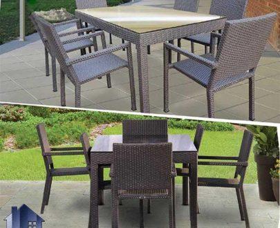 میز صندلی نهارخوری فضای باز ODK100