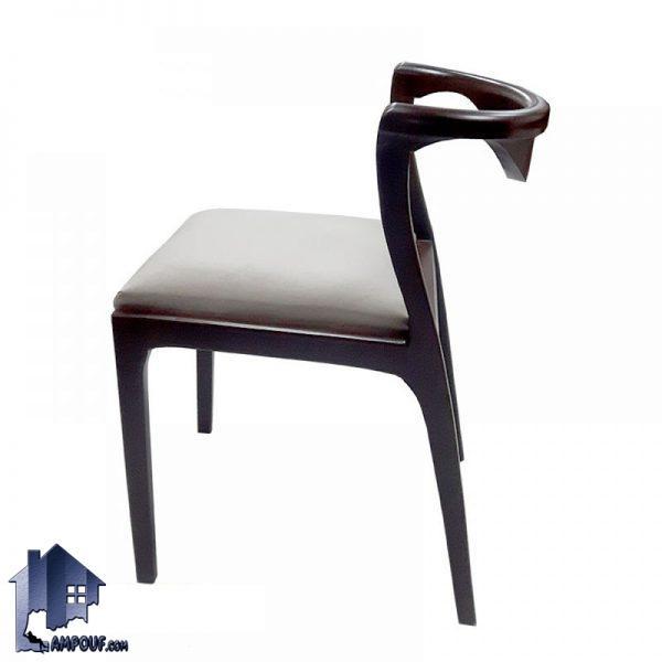 صندلی نهارخوری DSA111 با بدنه چوبی و دارای نشیمنی نرم و راحت که میتولند برای تمامی میز های ناهار خوری رستوران کافی شاپ آشپزخانه و پذیرایی مناسب باشد.
