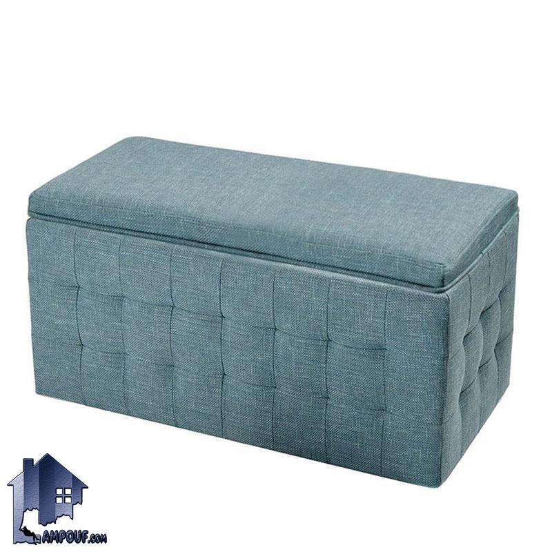 پاف PBJ103 با طراحی به صورت باکس و صندوق با درب جکدار که دارای بدنه کاملا لمسه کاری شده میتواند در کنار مبلمان و یا سرویس خواب در اتاق خواب قرار بگیرد.