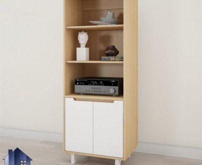 کمد ویترینی SCJ175 یا که با طراحی زیبا میتواند به عنوان بوفه و قفسه و ویترین و یا حتی کتابخانه در داخل منزل و اتاق خواب و سالن پذیرایی استفاده شود.