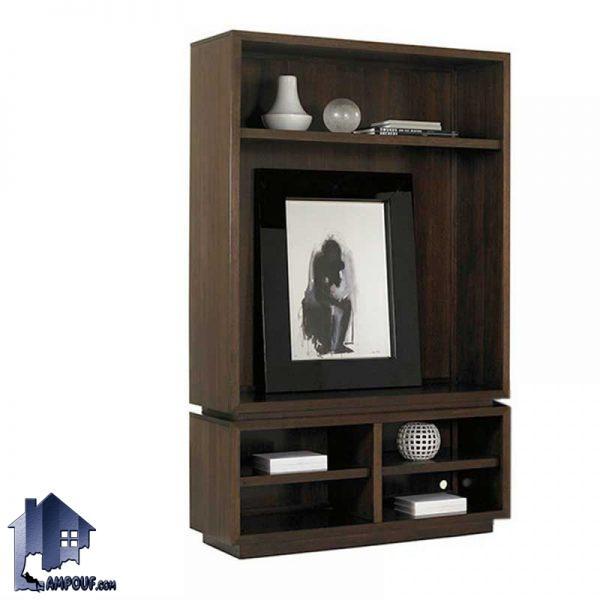 کمد ویترینی SCJ181 به صورت شلف و قفسه طراحی شده و به عنوان یک ویترین و بوفه میتواند در فضا های مختلف در منزل و اتاق خواب و سالن پذیرایی استفاده شود.