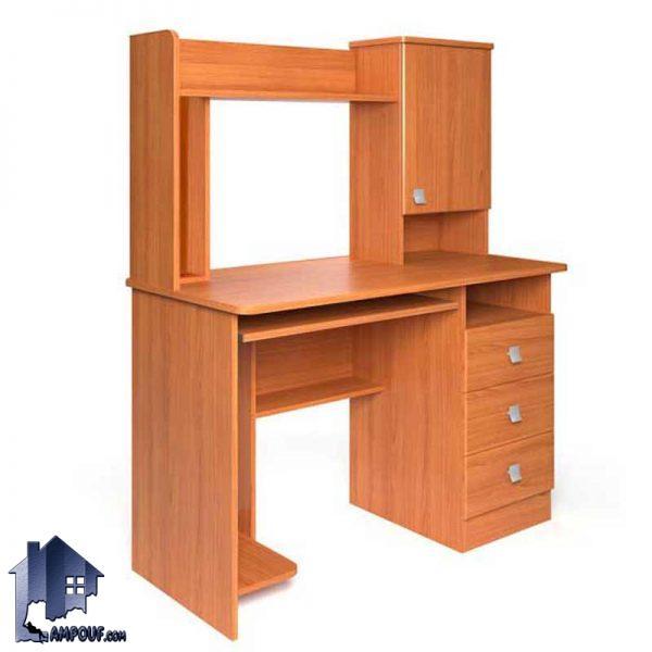 میز کامپیوتر SDJ267 یا تحریر مطالعه که دارای کشو و جای کیس و جای پرینتر بوده و به عنوان میز کار و یا لپ تاپ نیز در داخل اتاق خواب مورد استفاده قرار میگیرد.