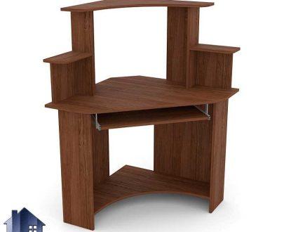 میز کامپیوتر SDJ270 دارای طراحی به صورت کمجا و گوشه ای که میتواند به عنوان یک میز کار و تحریر و مطالعه و یا لپ تاپ در اتاق خواب منزل استفاده شود.