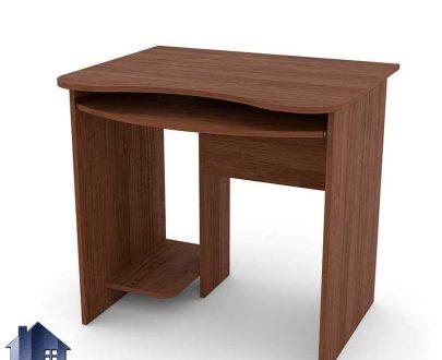 میز کامپیوتر SDJ273 دارای فضایی برای قرارگیری کیس و میز کشویی کیبورد که به عنوان یک میز کار و مطالعه و لپ تاپ وتحریر نیز میتواند استفاده شود.