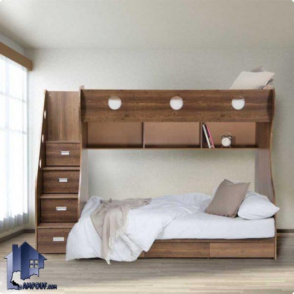 تخت خواب دو طبقه TBJ15