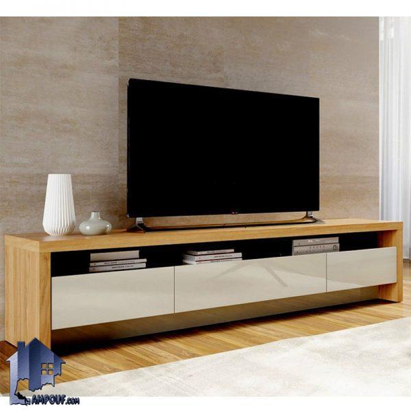 میز LCD مدل TTJ47 دارای کشو و قفسه که به صورت یک استند تلویزیون و یک زیر تلویزیونی در قسمت تی وی روم و یا پذیرایی منزل مورد استفاده قرار میگیرد.