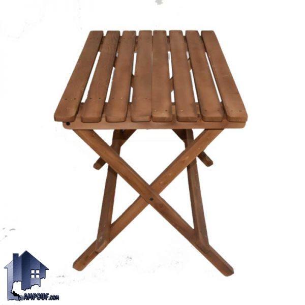 میز بنچ تاشو 4 نفره BTAR102 دارای جنس چوبی و به عنوان یک میز بار و نهارخوری تاشونده با حمل آسان و مناسب برای آشپزخانه رستوران کافی شاپ و فست فود میباشد.