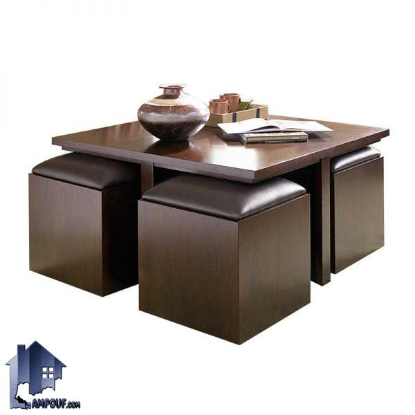 میز جلومبلی HOJ114