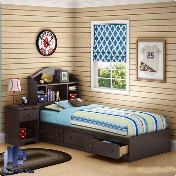 تخت خواب یک نفره SBJ105