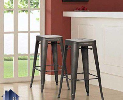 صندلی اپن و بار BSN100 که دارای ارتفاع نسبتا بلند و مناسب برای انواع میز های با ارتفاع بلند کانتر و آشپزخانه و کافی شاپ فست فود و دیگر غذا خوری ها میباشد.