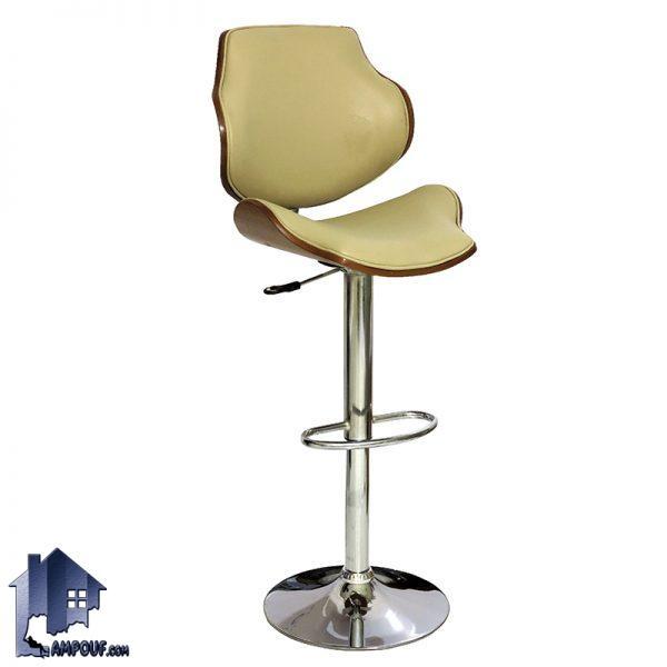 صندای اپن و بار BSO2034 با طراحی پایه فلزی و جکدار در کنار میز های پیشخوان و کانتر در آشپزخانه و رستوران و کافی شاپ و فست فود ها مورد استفاده قرار میگیرد.