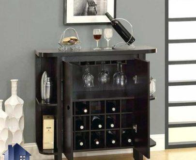 میز اپن و بار BTJ103 به صورت یک کمد و یا ویترین درب دار که مجهز به جای بطری و فضایی برای آویز لیوان بوده و در آشپزخانه و پذیرایی مورد استفاده قرار میگیرد.