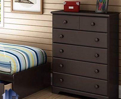 دراور DJ338 به صورت کشو دار که به عنوان یک میز توالت و آرایش و کنسول با طراحی زیبا در داخل اتاق خواب و در منار سرویس خواب مورد استفاده قرار میگیرد.