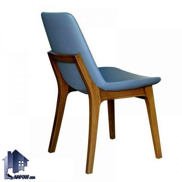 صندلی نهارخوری DSA127 که به صورت چوبی ساخته شده و مناسب برای استفاده و قرار گرفتن در کنار میز ناهار خوری در آشپزخانه و پذیرایی و رستوران و کافی شاپ میباشد