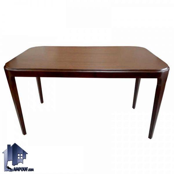 میز نهارخوری DTB20 دارای بدنه کاملا چوبی از چوب راش که به عنوان یک میز غذا خوری با طراحی شیک در آشپزخانه و رستوران و کافی شاپ مورد استفاده قرار میگیرد.