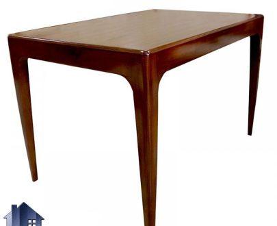 میز نهارخوری DTB22 دارای بدنه کاملا چوبی که با طراحی زیبا به عنوان غذا خوری در آشپزخانه و رستوران و کافی شاپ و فست فود مورد استفاده قرار میگیرد.