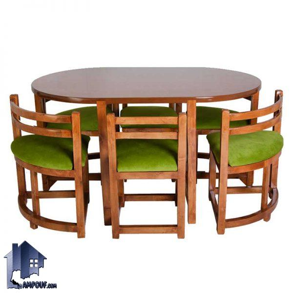 ست میز نهارخوری ۶ نفره DTB25