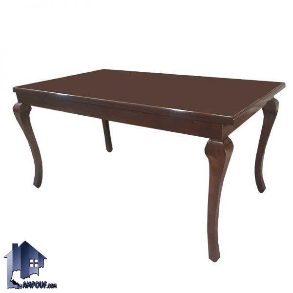 میز نهارخوری DTR35 که به عنوان یک میز غذا خوری و ناهار خوری چوبی در داخل آشپزخانه و پذیرایی و همچنین رستوران و کافی شاپ مورد استفاده قرار میگیرد.