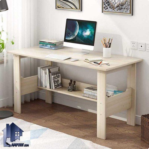 میز کامپیوتر SDJ318 دارای طراحی ساده و با وزن کم و با استحکام بالا که به صورت میز تحریر مطالعه و یا لپ تاپ برای قرار گیری در اتاق خواب و کار ساخته شده است.