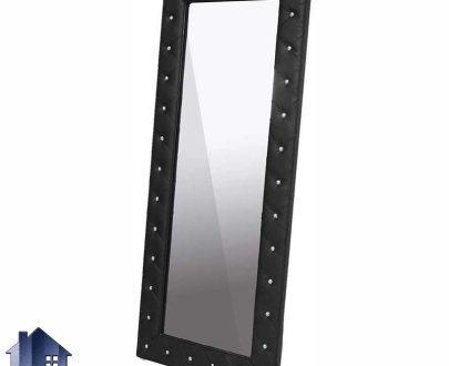 آینه قدی 90*200 مدل SMJ101 با بدنه لمسه کاری شده و به صورت چستر که مناسب برای قرار گیری در داخل اتاق خواب و پذیرایی و سالن های زیبایی و آتلیه های عکاسی است.