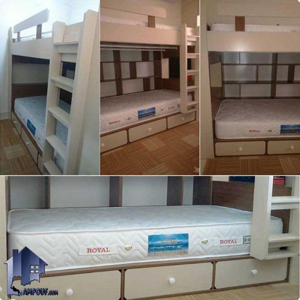 تخت خواب دو طبقه TBJ17