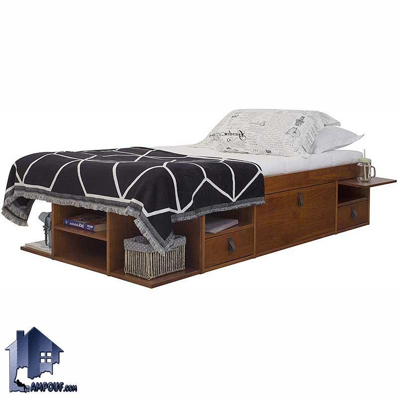 تخت خواب یک نفره SBJ101