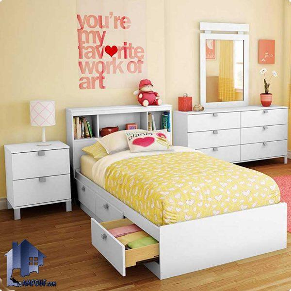تخت خواب یک نفره SBJ102