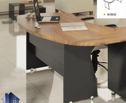 میز مدیریت ویونا MDN25 که به عنوان یک میز اداری و معاونتی و مدیریتی در اتاق های کار و مدیریتی در کنار دکور اداری مورد استفاده قرار میگیرد.
