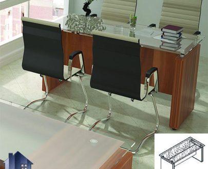 میز کنفرانس رادو CTN3515 که قابل استفاده در اتاق های کنفرانسی و جلسات و همچنین اتاق مدیریت در کنار دکور های اداری دیگر و یا به صورت مجزا میباشد.