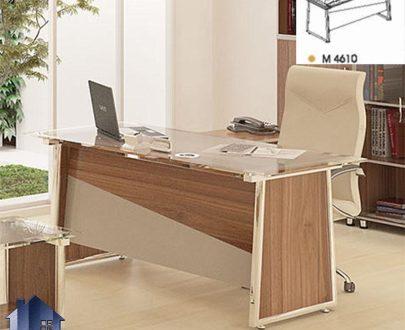 میز مدیریت راوند MDN4610 که به عنوان میز کار معاونتی و کارشناسی و کارمندی در داخل اتاق مدیریتی و در کنار دکور و تجهیزات اداری دیگر میتواند استفاده شود.