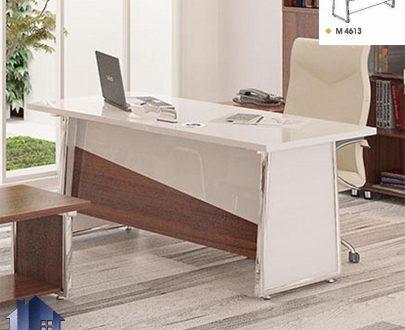 میز مدیریت راوند MDN4612 که در داخل اتاق های کار و مدیریتی و معاونتی در کنار دکور و تجهیزات اداری به عنوان یک میز کار مجهز و زیبا مورد استفاده قرار میگیرد.
