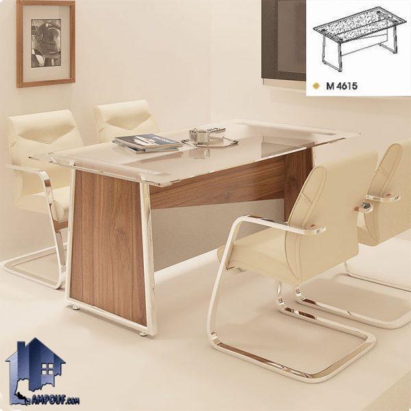 میز کنفرانس راوند CTN4615 که به عنوان یک میز کار کنفرانسی برای جلسات و دیگر استفاده های مشابه در سالن و اتاق کنفرانس مدیریت در کنار دکور اداری قرار میگیرد.