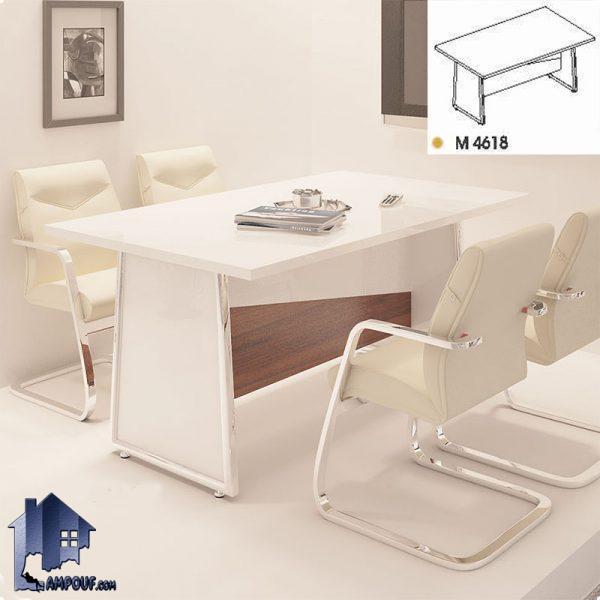 میز کنفرانس راوند CTN4617 که به عنوان میز کار و جلسات در اتاق های کنفرانسی و اتاق همای مدیریت در کنار دکور و تجهیزات اداری مورد استفاده قرار میگیرد.