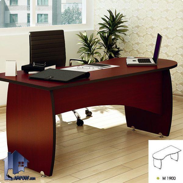 میز کارشناسی شمیم EDN19 که به عنوان یک میز کارمندی اداری و یا مدیریت و معاونت در کنار دگر دکور و تجهیزات اداری در اتاق کار مورد استفاده قرار میگیرد.