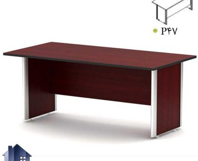 میز کنفرانس ساران CTNP47 دارای پایه فلزی برای اتاق های کنفرانسی و جلسات و مدیریت که در محیط های اداری به عنوان میز کار در کنار دکورو تجهیزات قرار میگیرد.