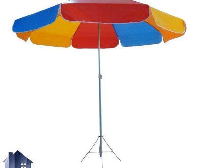 چتر CUH101 به صورت ضد آب و پایه دار از قسمت وسط که به عنوان یک آفتابگیر و سایه بان در منازل و رستوران ها و کافی شاپ ها و فضای باز مورد استفاده قرار میگیرد.