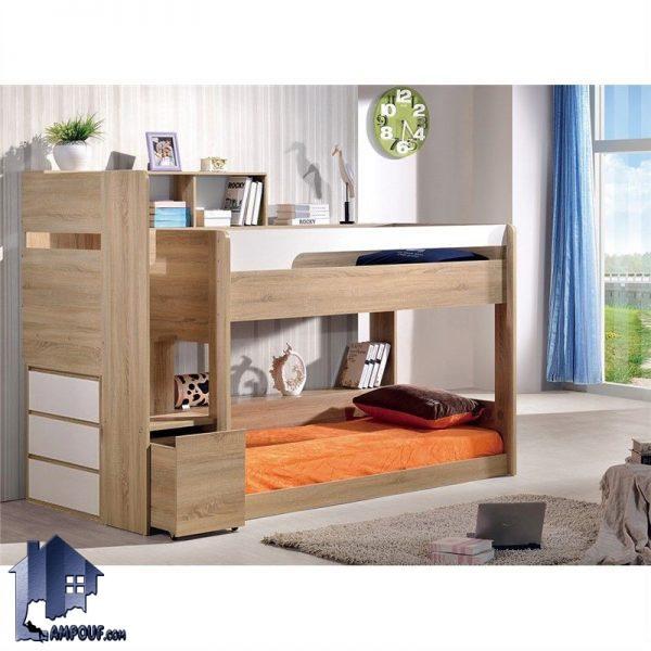 تخت خواب دو طبقه TBJ20