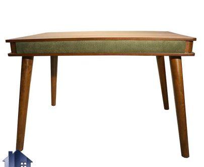 میز نهارخوری DTB48 با بدنه چوبی که به عنوان میز ناهار خوری و غذا خوری کشو دار در آشپزخانه و پذیرایی و رستوران و کافی شاپ مورد استفاده قرار میگیرد