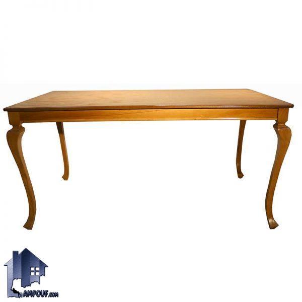میز نهارخوری DTB59 با جنس چوبی که میتواند در کنار صندلی های ناهار خوری و غذا خوری در رستوران و آشپزخانه و پذیرایی و کافی شاپ مورد استفاده قرار بگیرد.