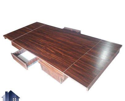 میز تبدیلی چهار به هشت DTB63 که به عنوان میز غذا خوری و ناهار خوری چهار و شش و هشت نفره در داخل آشپزخانه و پذیرایی و کافی شاپ و رستوران استفاده میشود.