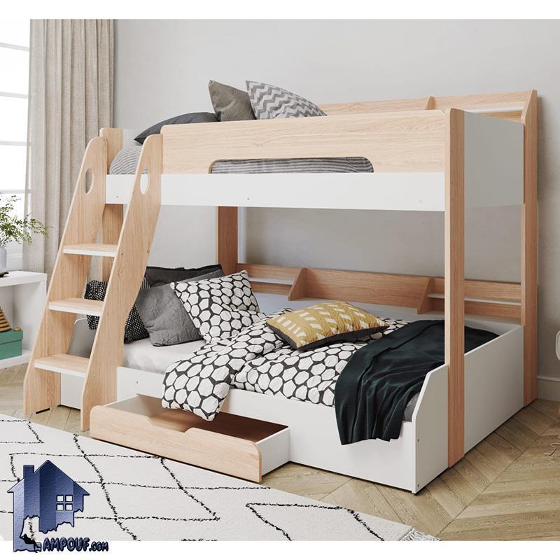 تخت خواب دو طبقه TBJ30